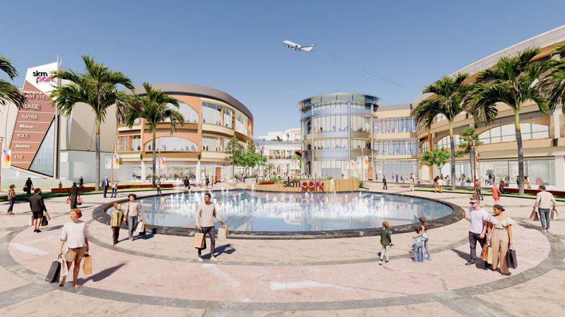 新光三越跨足Outlet市場,首間「skmpark」預計2022農曆年前在高雄草衙道購物中心現址登場。圖/新光三越提供