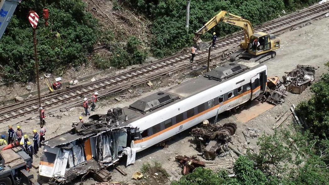 台鐵太魯閣號造成多人傷亡,舉國悲痛。本報資料照片