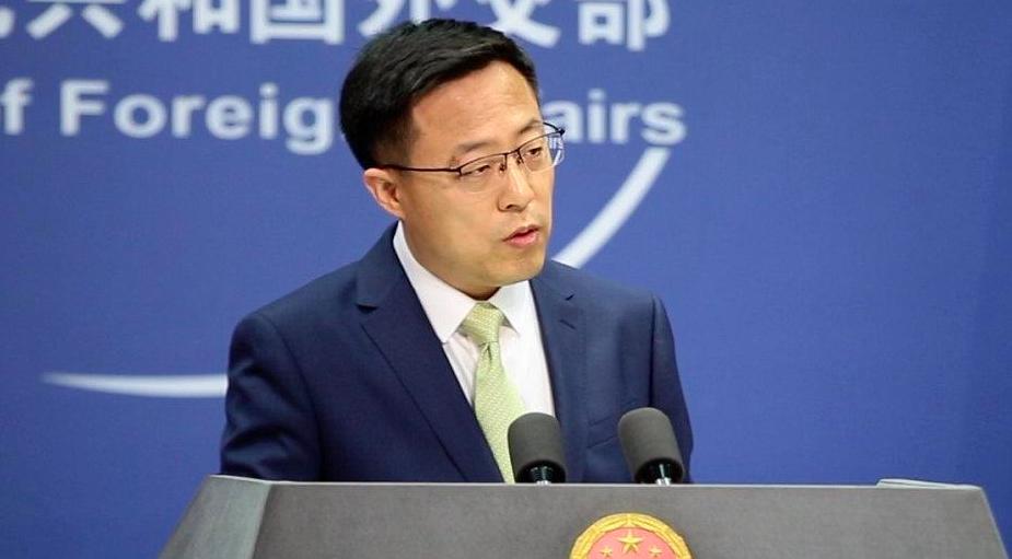 大陸外交部發言人趙立堅今天(8日)說,中國從來無意恐嚇誰,但誰的恐嚇也不怕。(新...