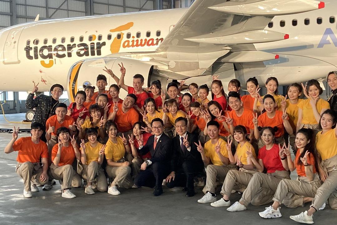 帥氣墨鏡搭neo官方塗裝 台灣虎航首架A320neo新機登場