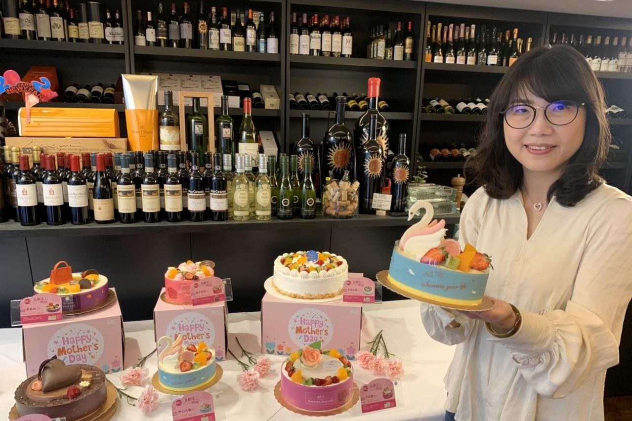 母親節檔期將賣出20萬個蛋糕!85ºC再送「精品包」
