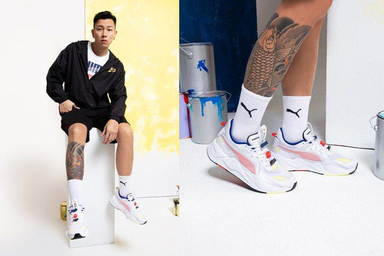PUMA推出全新的Décor 8 系列,請了品牌代言人E.SO瘦子詮釋服飾與鞋款...