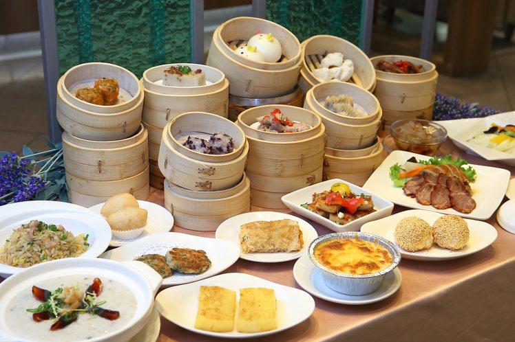 新葡苑台北復興店推出「下午茶吃到飽」方案,每人599元。記者陳睿中/攝影