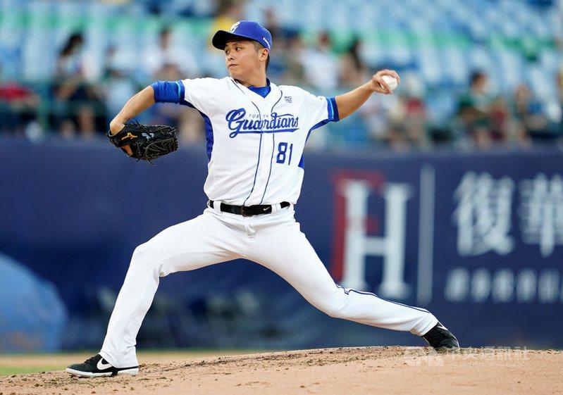 富邦悍將先發投手陳仕朋獲得MVP。 圖/富邦悍將隊提供