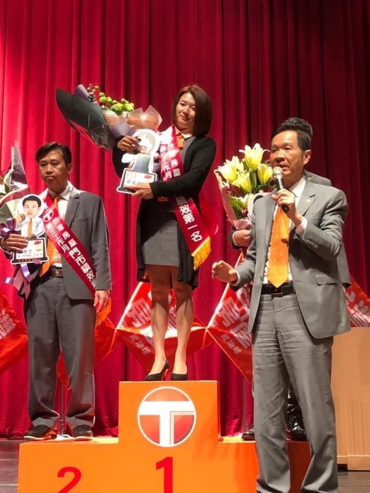 台灣房屋劉孟嬣專精商用不動產,獲得客戶高度信賴。 圖/台灣房屋提供