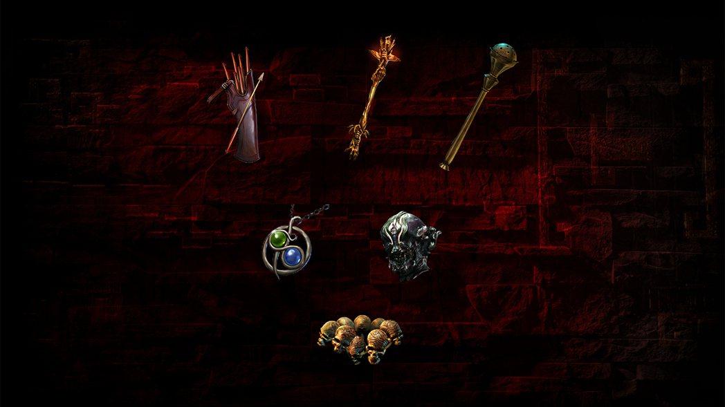 馬洛尼的機關、誓約、刺殺、布魯特斯的刑具、獵首、激情之章等裝備將改為全圖掉落