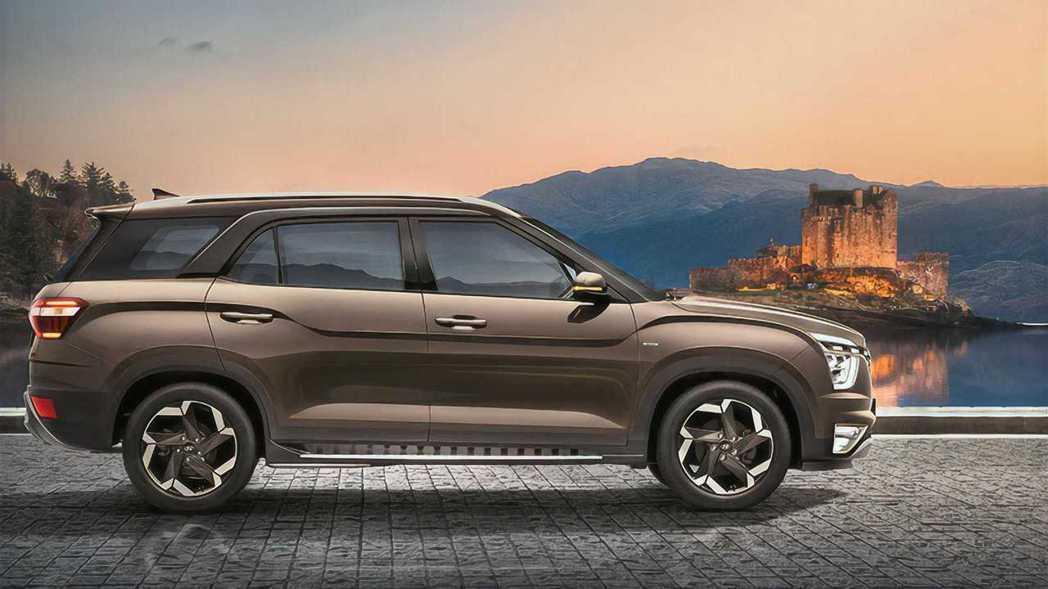 全新Hyundai Alcazar六人/七人座休旅。 摘自Hyundai
