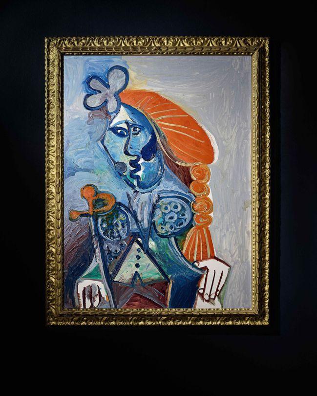 巴布羅・畢卡索《鬥牛士》 油畫畫布,1970 年作。(圖片提供/蘇富比)
