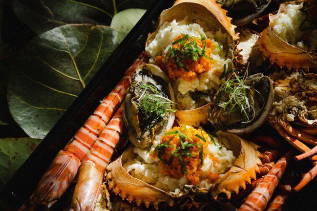四海為富豪華海鮮拼盤。 圖/Talter Taiwan提供