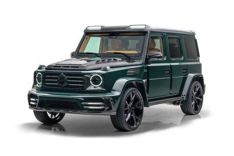 想砸個1,300萬改裝你的Mercedes-AMG G63?Mansory能幫你實現!