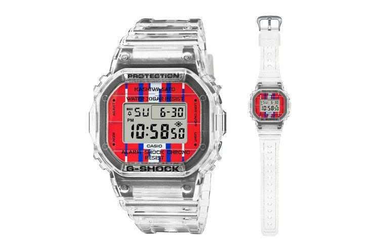 G-SHOCK x 佐藤可士和聯名DWE-5600KS-7表款7,800元。圖/...