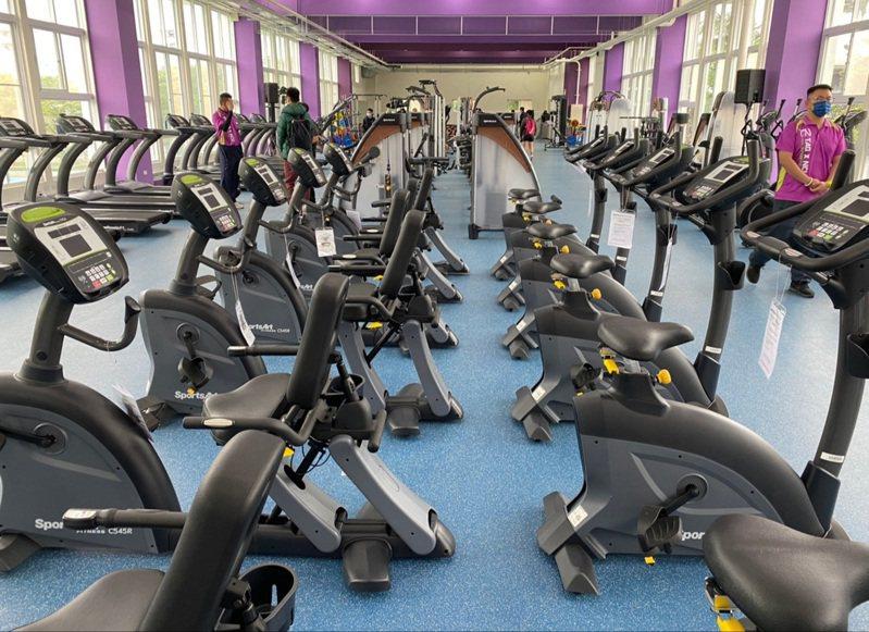 中大運動中心有完善的運動設施。圖/桃園市政府體育局提供