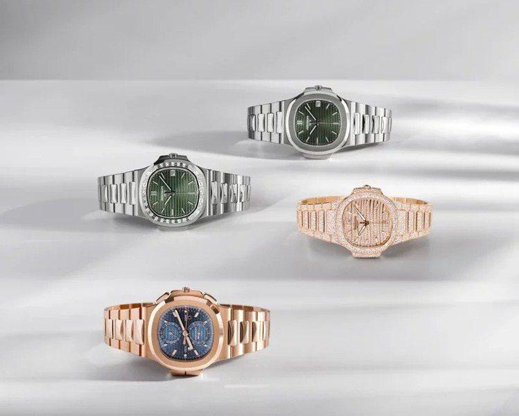 百達翡麗在Watches & Wonders表展一次推出四款全新Naut...