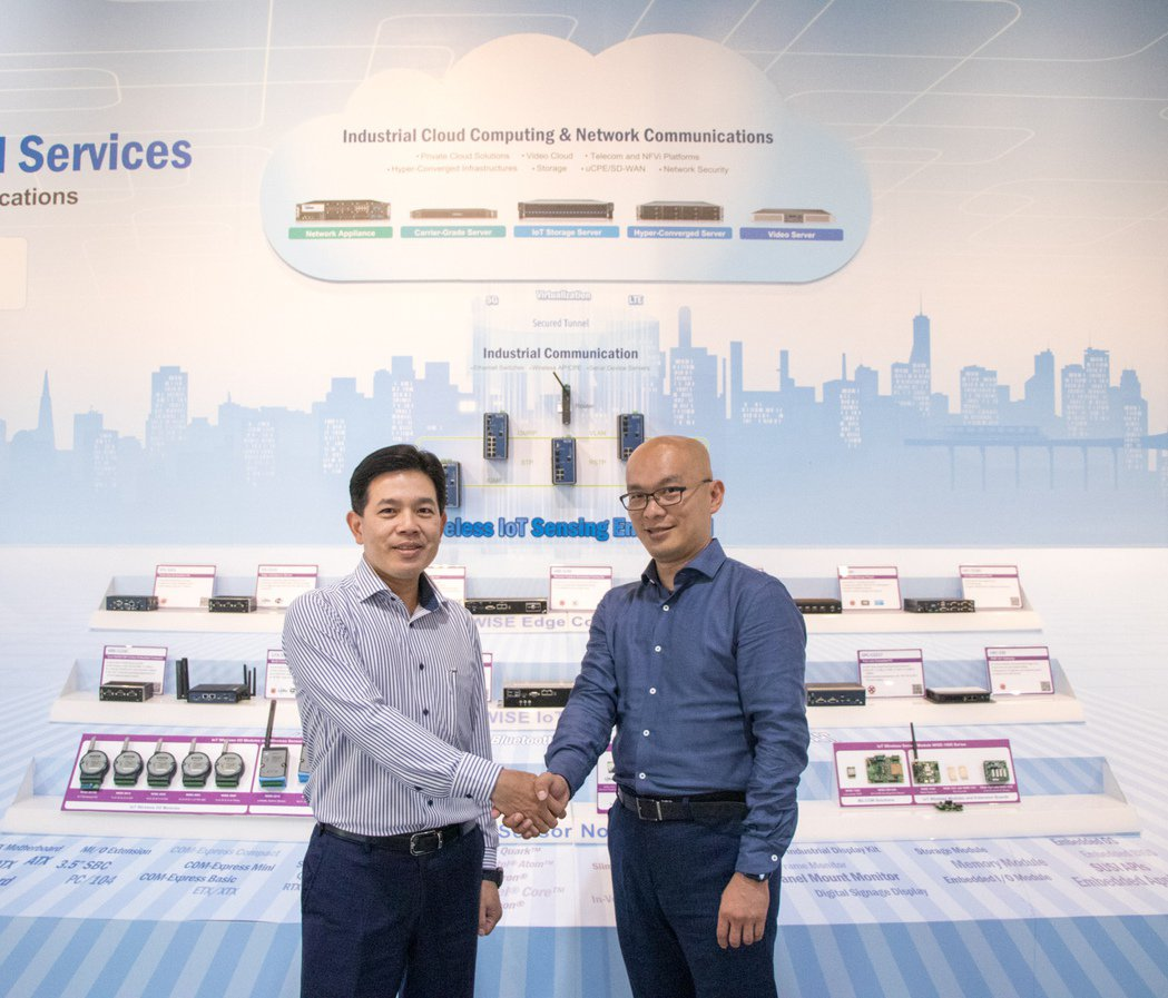研華與自由系統結盟 以IoT CSP加速工業物聯網生態體系發展。圖/研華提供