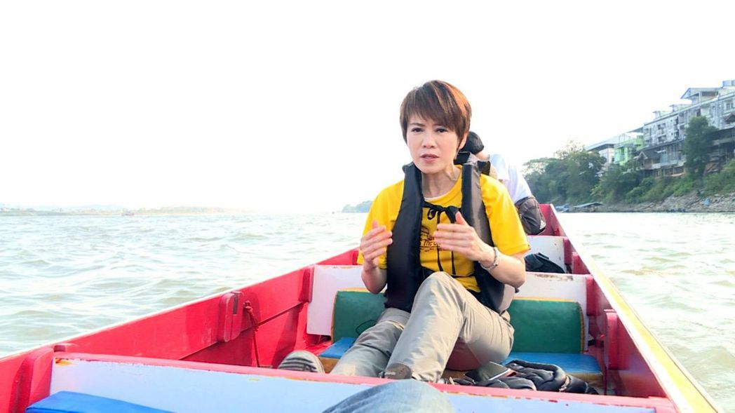 陳雅琳先前為了節目上山下海不喊累。圖/壹電視提供