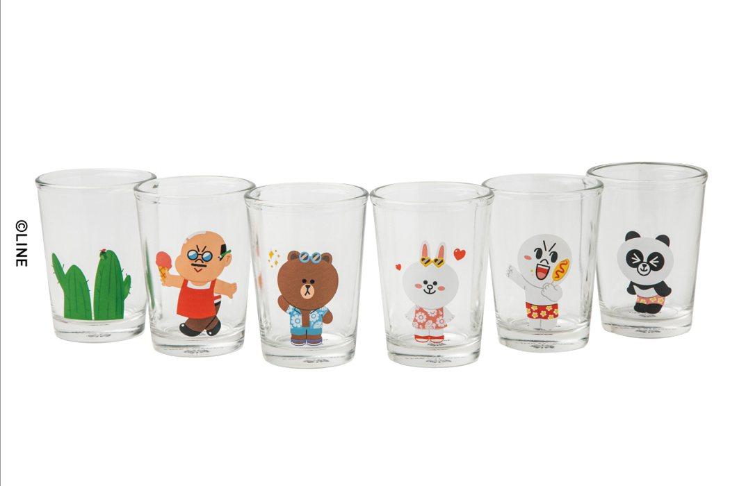 BROWN&FRIENDS拎啦!台式啤酒杯組,售價770元。圖/LINE提供