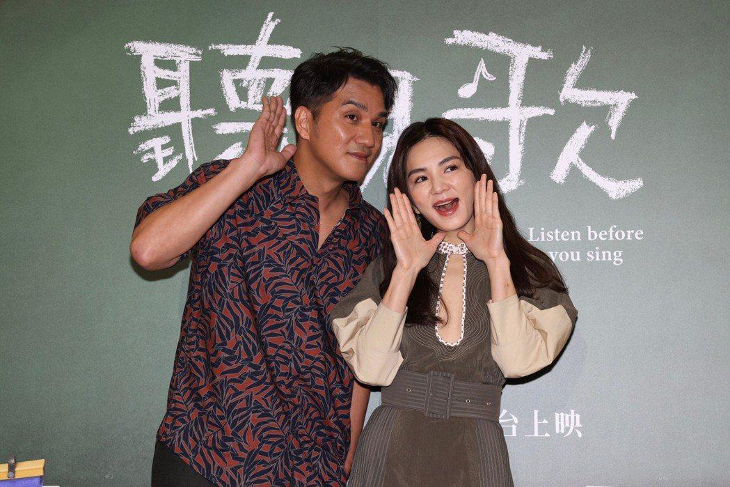 馬志翔(左)與Ella(右)在「聽見歌再唱」與一群小孩合作,不過Ella直呼未來...