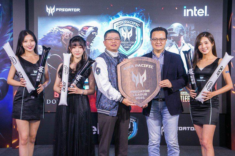 宏碁舉辦首屆Predator League虛擬賽車聯賽。圖/宏碁提供