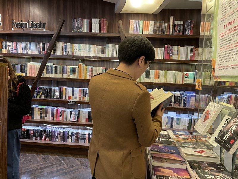 去年大陸新開的實體書店達4,061家,但同時也有1,573書店關門,倒閉的書店是前一年的三倍。記者林則宏/攝影