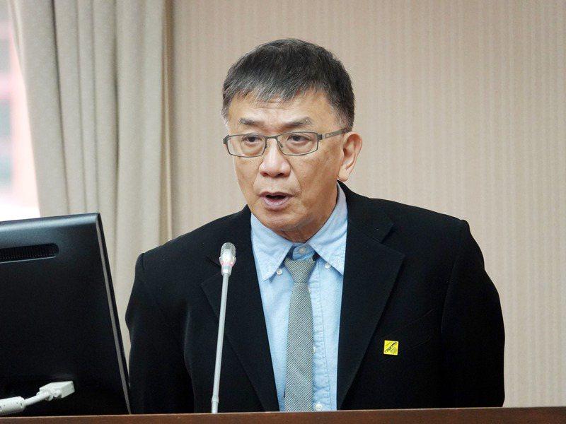 運安會主委楊宏智。記者邱德祥/攝影