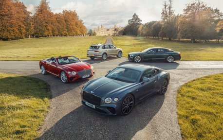 Bentley產量突破20萬輛大關 頂級休旅Bentayga功不可沒