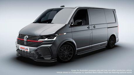 Volkswagen Transporter T6.1 Sportline發表 帥到掉渣沒話說!