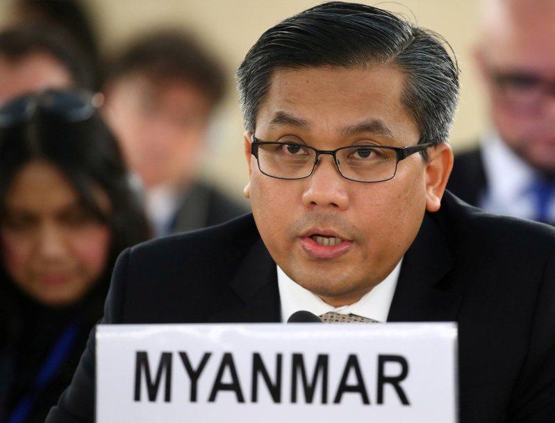 法新社報導,覺莫敦(Kyaw Moe Tun)激烈反對緬甸軍事政變,並對軍政府有關他不再代表緬甸的說法置之不理。 路透社