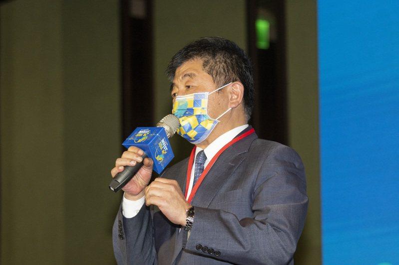 衛福部長陳時中被視為綠營新竄起的政治明星。 記者王敏旭/攝影