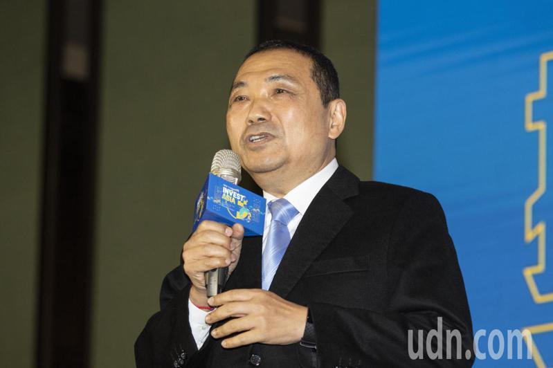 新北市長侯友宜指出,捐款跟肇事者的責任是兩碼事。記者王敏旭/攝影