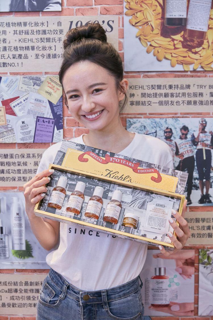 4月10日於KIEHL'S的FUN 夢想快閃店,消費滿1,700元送170ml豪...