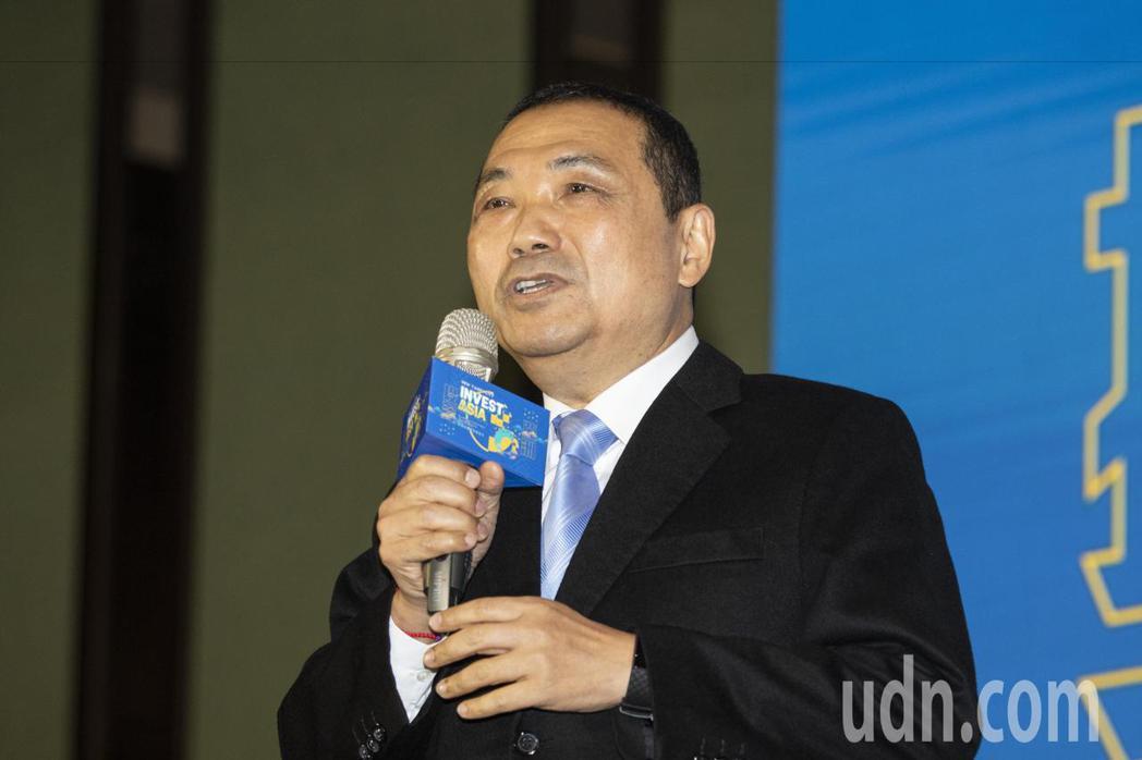 新北市長侯友宜說,他是在強調在那個角色要把它做好,定位永比職位更重要。記者王敏旭...