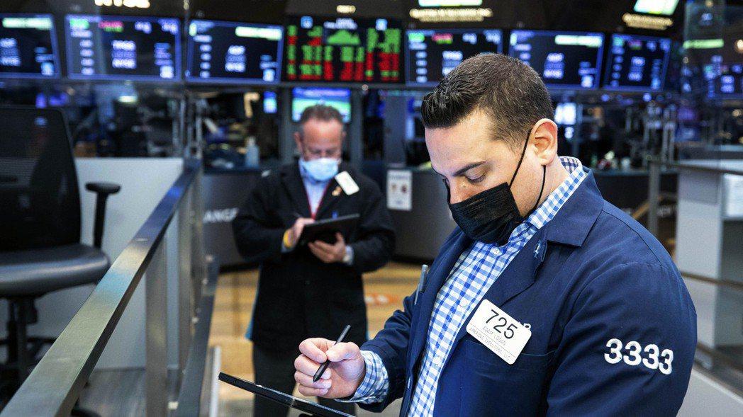 美股16日持續走強。 美聯社