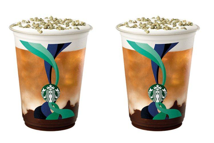 「巧克力燕麥紅茶那堤」為植物奶人氣飲品,紅茶佐巧克力醬,搭配帶有堅果風味的燕麥奶...