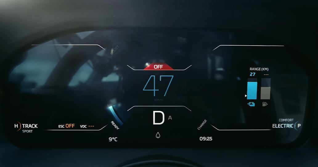 McLaren Artura專屬的E-mode純電模式可行駛30km。 摘自Mc...