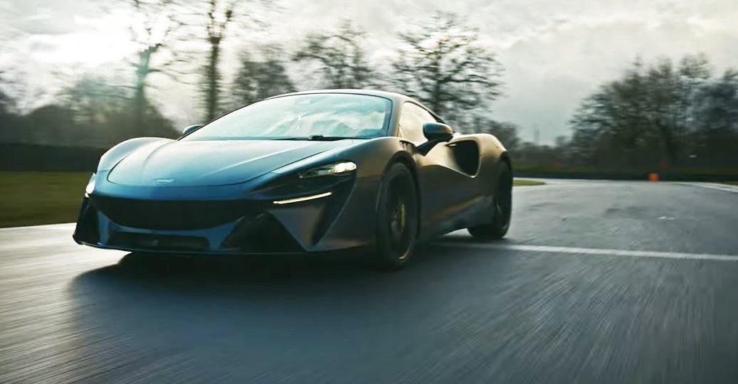 McLaren Artura。 摘自McLaren