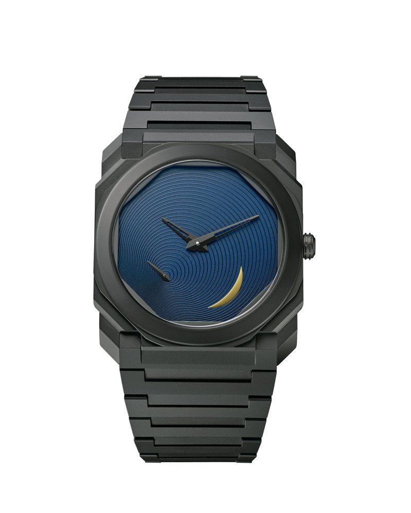 Octo Finissimo Tadao Ando安藤忠雄限量版超薄腕表,約56萬8,000元。圖/寶格麗提供