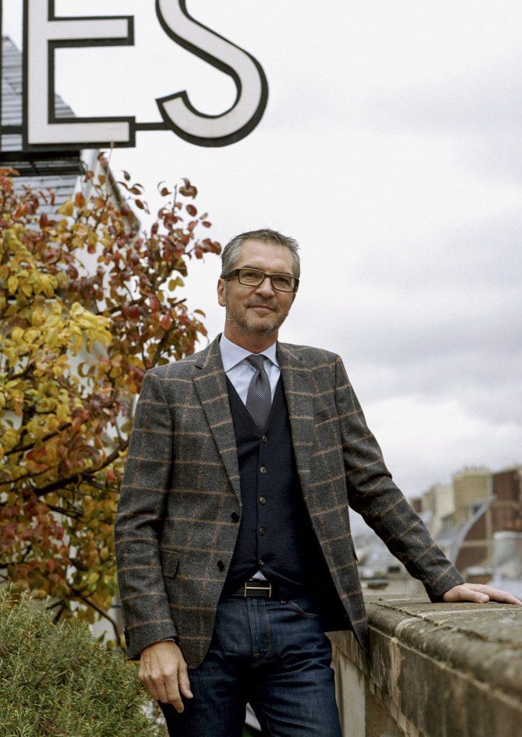 愛馬仕鐘表創意與開發總監Philippe Delhotal。圖/愛馬仕提供