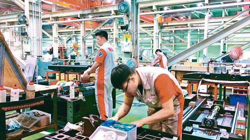 經濟部統計處昨(5)日公布,2020年製造業上市櫃公司研發費用逐年成長。(本報系資料庫)