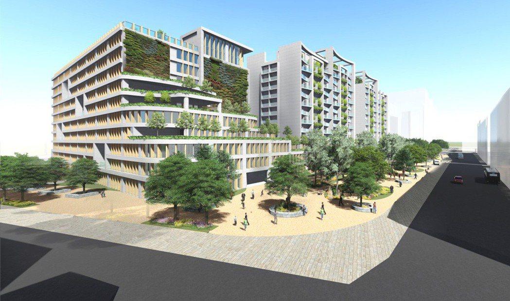 新北市三重「銀新未來城」本預計今年第一季招商,但中央遲遲未審核過都市計畫變更案,...