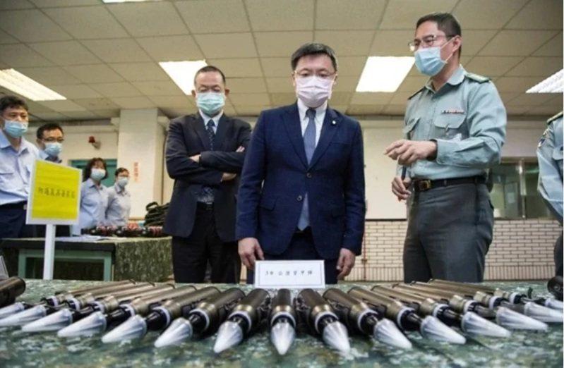 國防部軍備局205廠是國軍輕兵器彈藥生產重鎮。圖/軍聞社