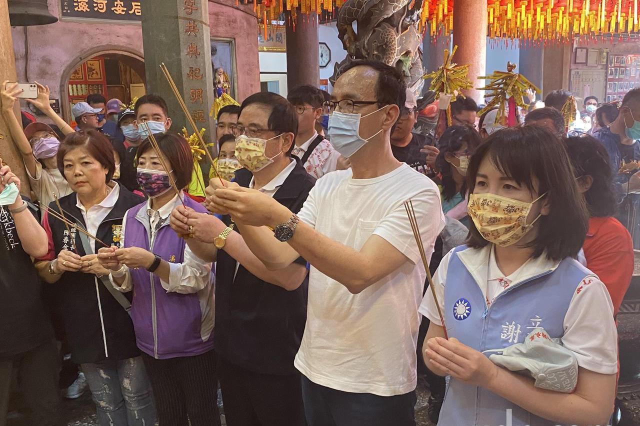 影 /朱立倫:盼媽祖護佑台灣 希望兩岸和平