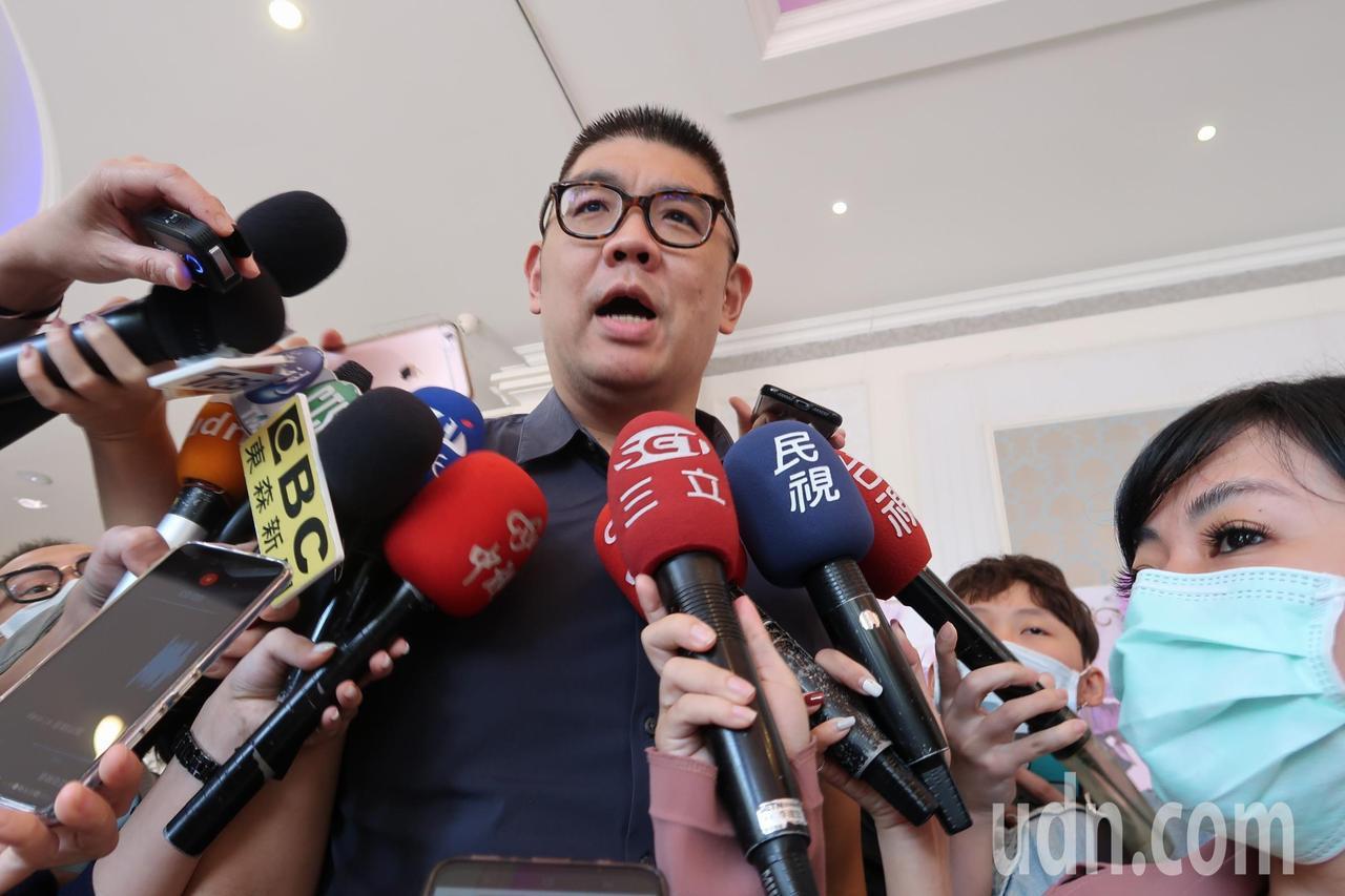 連勝文:請民進黨民代和側翼盡快打高端 實踐台灣價值