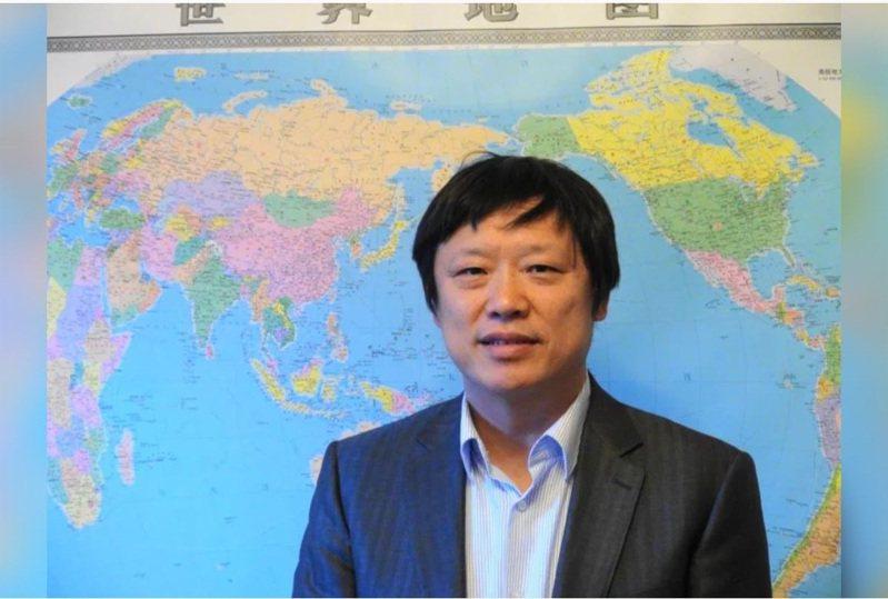 大陸環球時報總編輯胡錫進。聯合報資料照