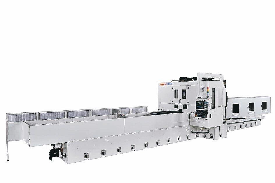 準力推出JL-20400CNC滑軌研磨機,精度佳。 準力機械/提供