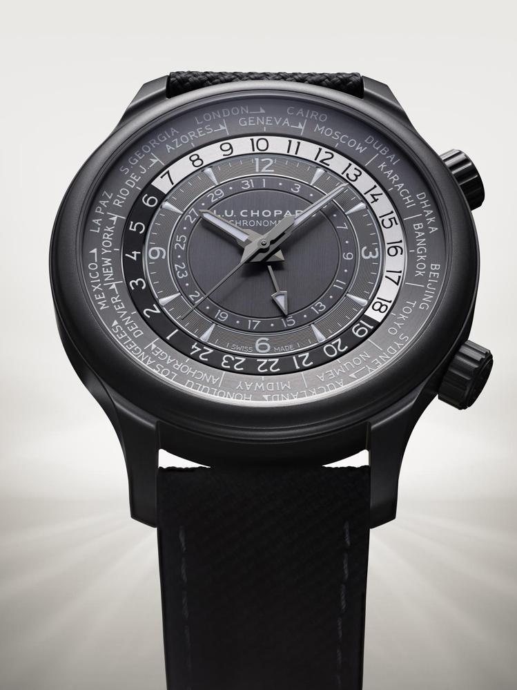 L.U.C Time Traveler One Black腕表,42毫米5級陶瓷...