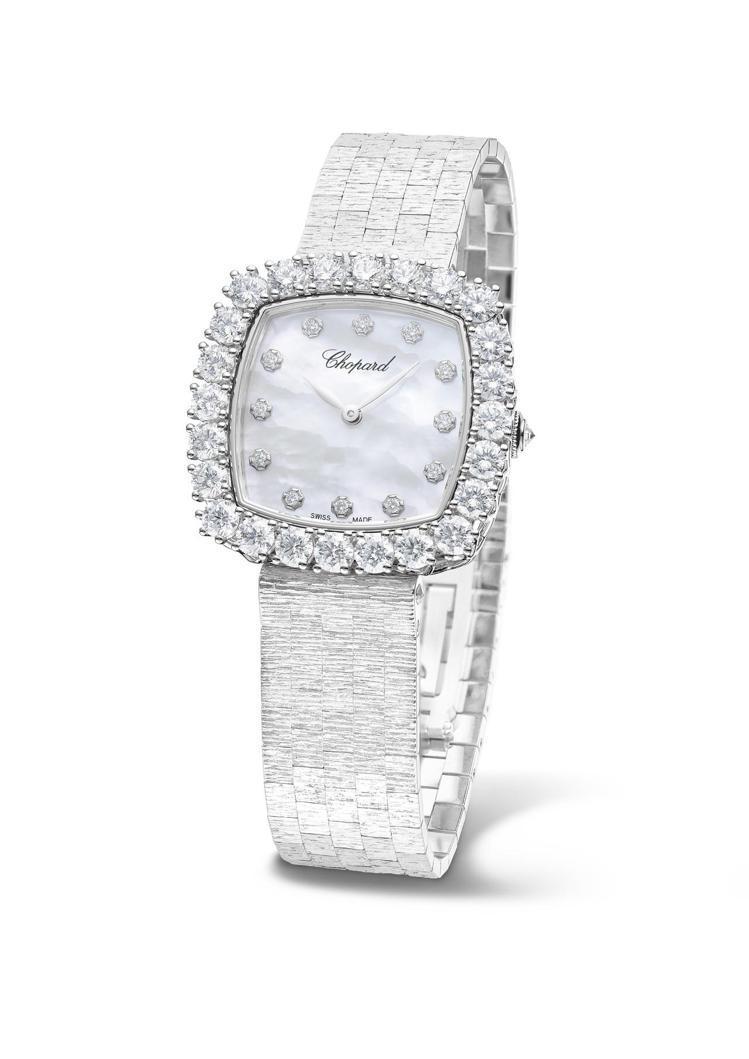 L'Heure du Diamant枕形腕表,30.80毫米符合倫理道德標準的1...