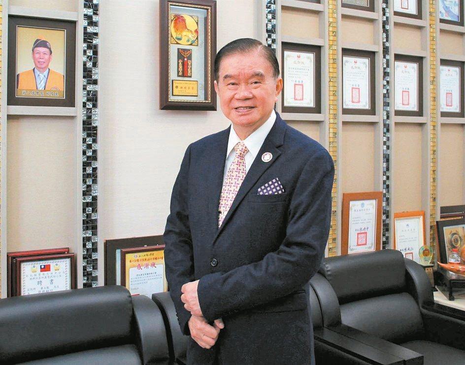 臺灣機械公會常務理事暨富偉科技集團總裁蕭文龍。富偉公司/提供
