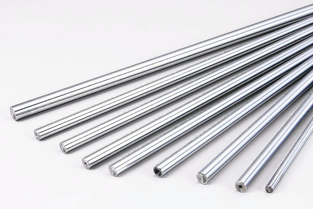 捷聯精密專業各式規格鍍鉻鋼棒、軸心研磨加工。捷聯公司/提供