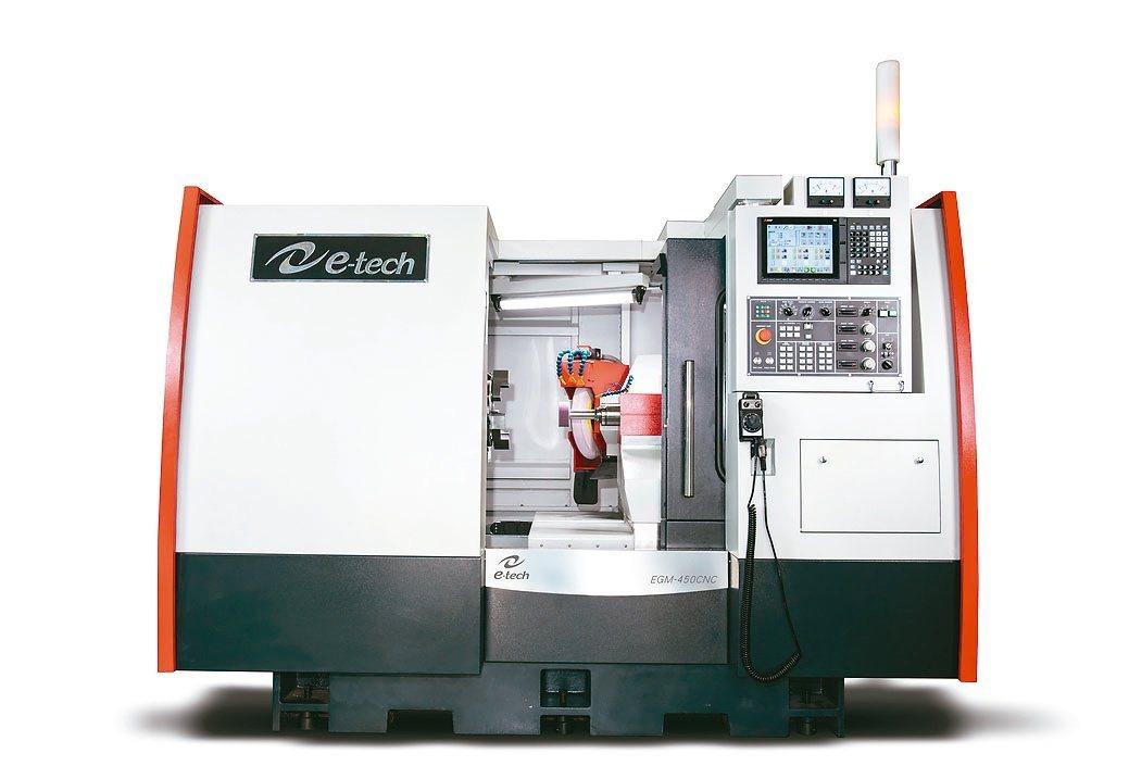 毅德機械新研發成功的EGM450CNC內外徑複合式磨床已獲市場最高評價。毅德...