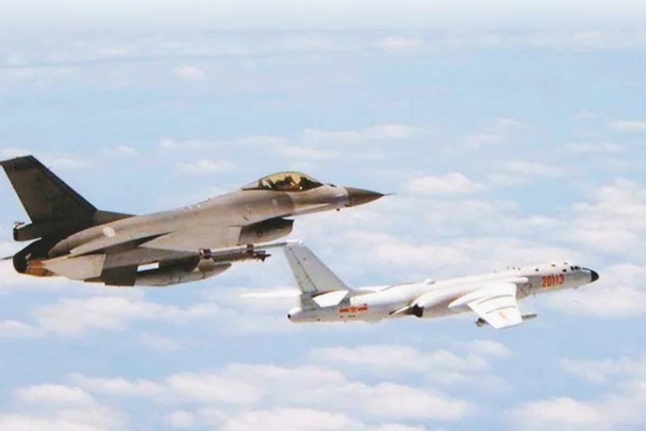 獨/強化警戒共機 國軍空中設三關反制 紅線前推至30浬